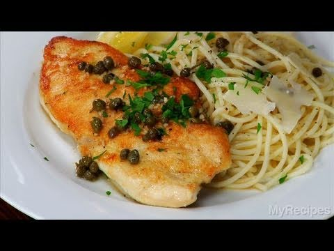 Chicken Piccata With Capers Recipe Youtube