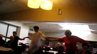 Crowd zorba's dance.AVI
