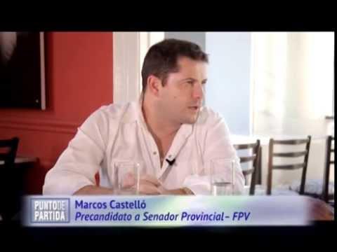 """Marcos Castello en """"Punto de Partida"""" N° 60."""