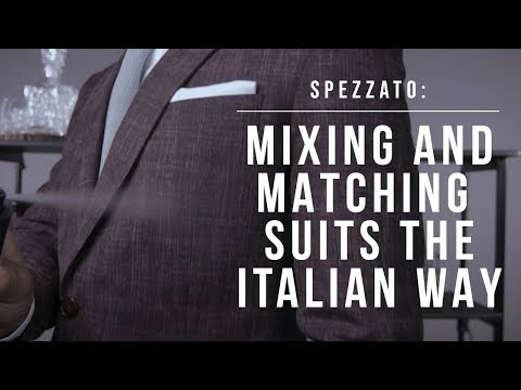 Spezzato: Mixing and Matching Suits the Italian Way | Esquire Philippines