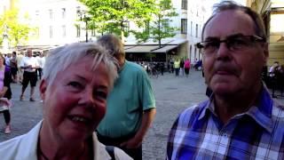 Larz Kristerz Bloggfilm 30. Larmtorget, Kalmar + Lane Loge, Uddevalla.