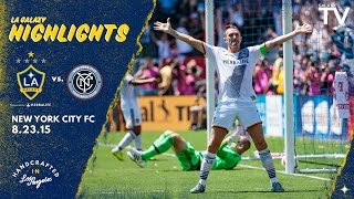 Video Gol Pertandingan La Galaxy vs New York City FC