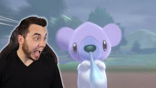 ALMOST 3000 ENCOUNTERS! SHINY WILD CUBCHOO in Pokemon Sword and Shield!