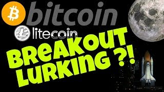 🔥BITCOIN LITECOIN BREAKOUT LURKING!?🔥 bitcoin litecoin price prediction, analysis, news, trading