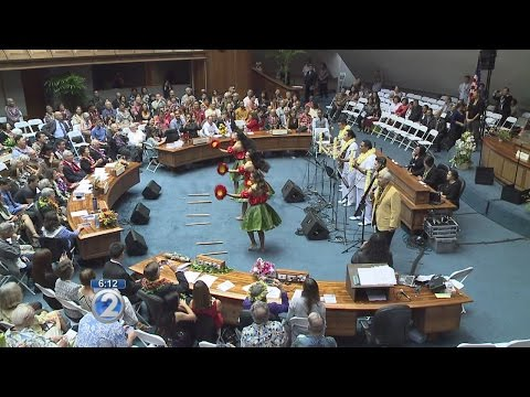 28th Hawaii State Legislature opens with fanfare, focus on issues