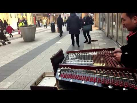 Amazing Cimbalom Street Performance in Stockholm | #This Is Talent