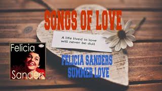 FELICIA SANDERS - SUMMER LOVE