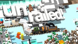 UNRAILED! - #11 - AUTO MINER!! (4 Player Gameplay)