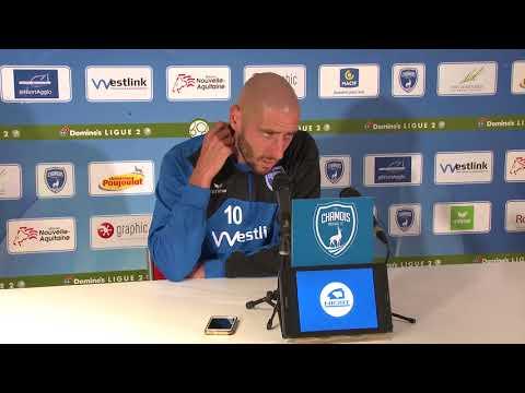 Chamois Niortais FC - Tours FC  (18/08/2017)  Conférence de Presse