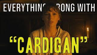 "Everything Wrong With Taylor Swift - ""cardigan"""