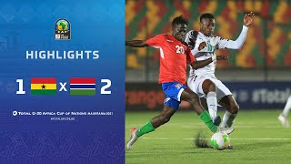 HIGHLIGHTS | Round 3 - Group C : <b>Ghana</b> 1-2 Gambia