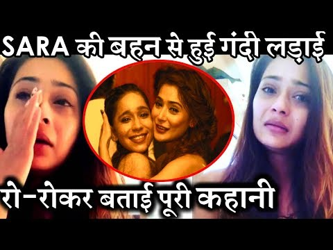 Sara Khan Cries Badly After Her UGLY FIGHT With  Ayra Khan