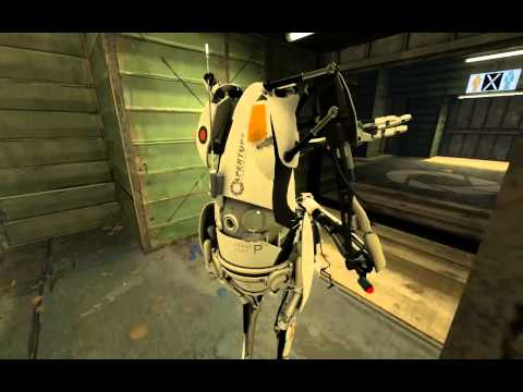 Portal 2 Co-Op Walkthrough - [ Course 5 - Level 4 ]