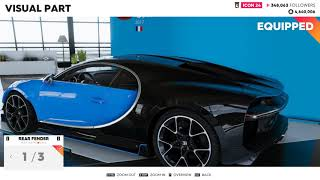 The Crew 2 - Bugatti Chiron Customization, 328mph Top Speed + Fully Upgraded Gameplay
