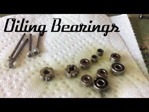 How to Oil Bearings