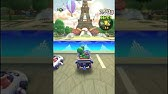 Mario Kart Tour Take Out 5 Traffic Cones Youtube