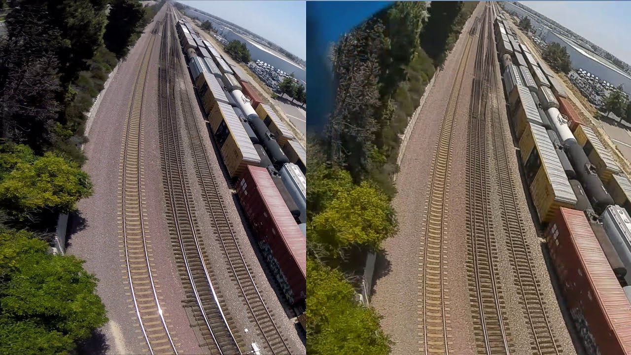 Gopro vs DJI FPV Video фото