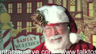 Talk to Santa Claus Live