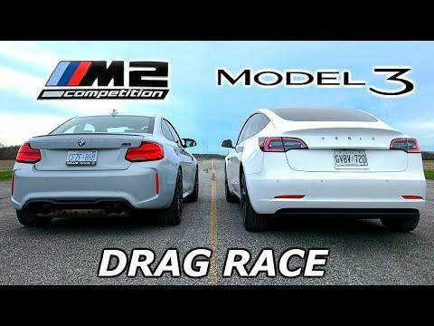 drag-race---tesla-model-3-vs-bmw-m2-competition-//-throttle-house-track-series
