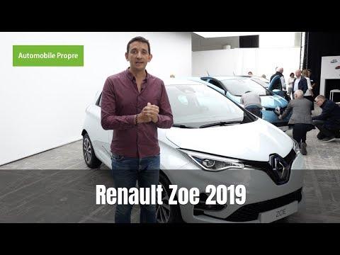 Nouvelle Renault Zoe 2019 : tous les détails