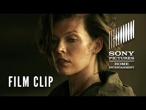 Resident Evil: The Final Chapter FILM CLIP 'That All You Got?'