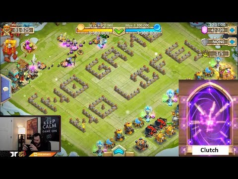 Rolling Hero Collector GREAT Session Snatched The GOODS ONETIME! Castle Clash
