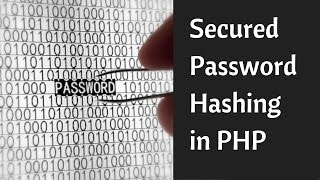 Secured Password Hashing in PHP (Best Practises)