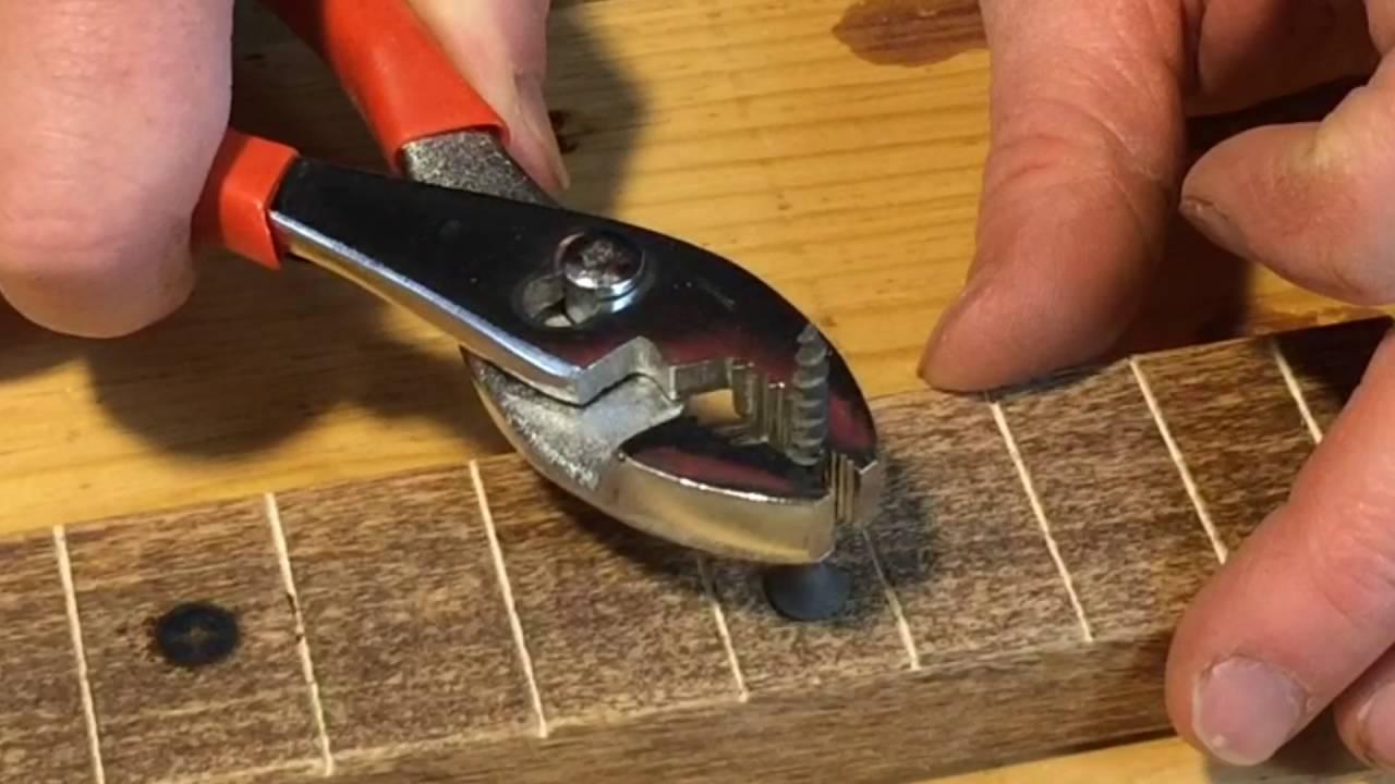 cigar box guitar kit one minute tutorials how to make branded fret markers youtube. Black Bedroom Furniture Sets. Home Design Ideas