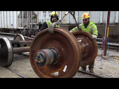 TRRS 504: Railcar Wheel Replacement | WSOR Yard Tour