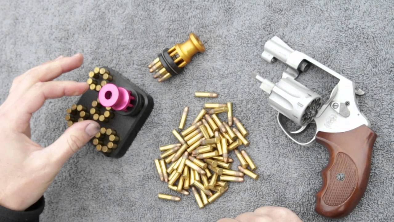 Using A Speed Beez Speed Loader With A Smith Amp Wesson