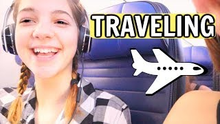 12 year old on an international flight to a SURPRISE destination!!