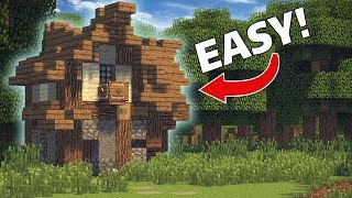 Medieval House tutorial / FOR SURVIVAL  [MINECRAFT]