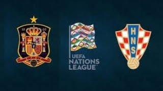 SPAGNA-CROAZIA UEFA NATIONS LEAGUE CRONACA LIVE STREAMING