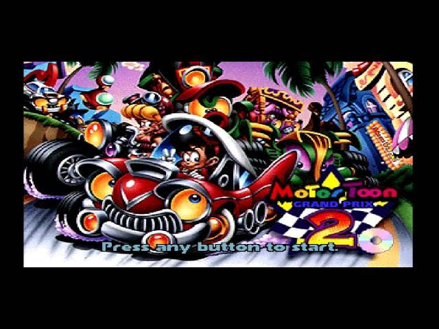 Motor Toon Grand Prix 2 HD Gameplay on PS3