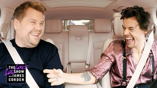 Download Harry Styles & James Corden Carpool to Work Mp3 and Videos