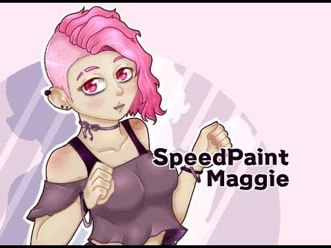 Speedpaintmaggie Fnafhs Youtube