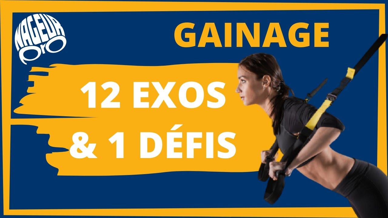 Gainage pour les nageurs (12 exercices + 1 défi)