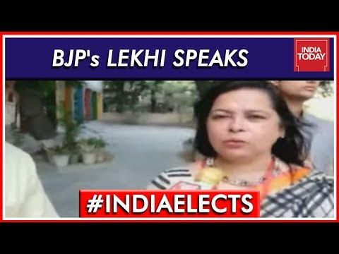 BJP's New Delhi Candidate Meenakshi Lekhi Speaks After Voting | Lok Sabha Elections 2019