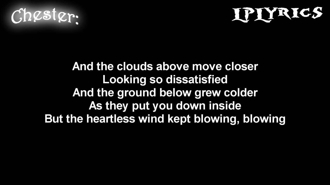 Linkin Park- Valentine's Day [ Lyrics on screen ] HD - YouTube