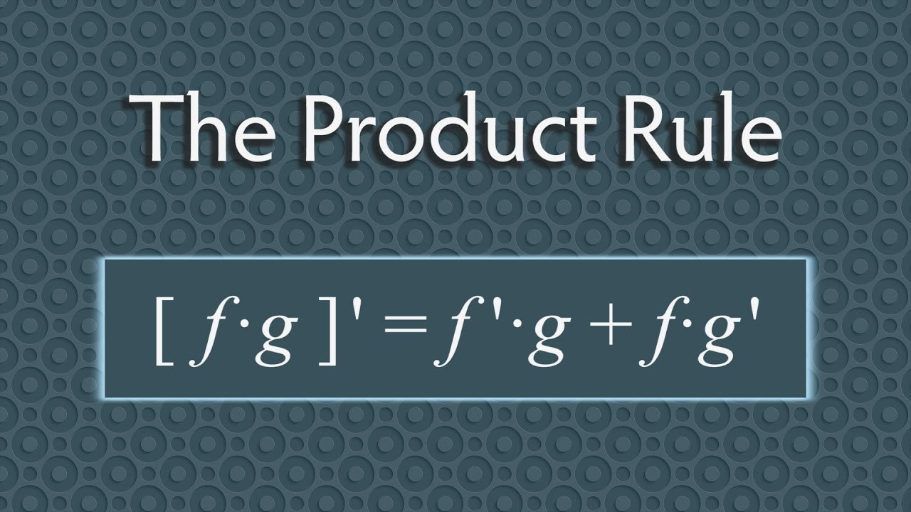 rule calculus derivatives