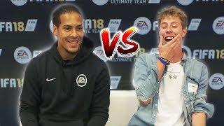 LIVERPOOL FAN VS VIRGIL VAN DIJK (VVD) FIFA 18