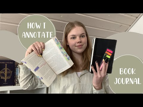 Book journal / how I annotate my books
