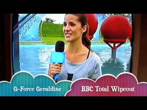 BBC Total Wipeout G-Force Geraldine Finegan