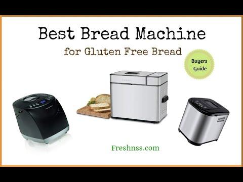 Best Bread Machine for Gluten Free Bread (2020 Buyers Guide)