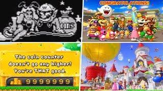 Evolution of 100% Endings in Mario Games (1994 - 2019)