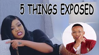 """5 Crazy Things Vera Sidika Exposed About Otile Brown in Her New Song """"Nalia"""" 