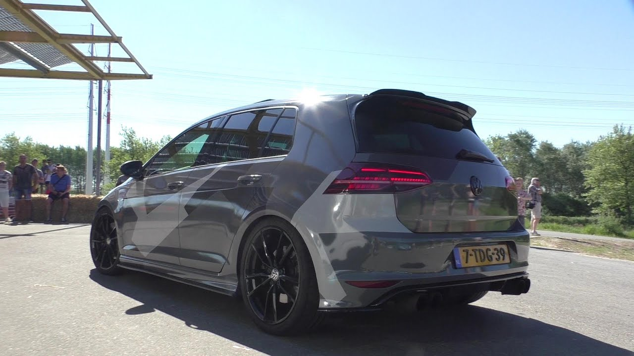 loud volkswagen golf 7 r w armytrix exhaust anti lags. Black Bedroom Furniture Sets. Home Design Ideas
