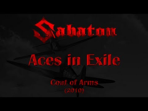 Sabaton - Aces in Exile (Lyrics English & Deutsch)