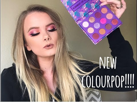 NEW COLOURPOP ELEMENT OF SURPRISE PALETTE. HONEST REVIEW | Vanessa Lopez