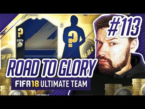 WE BOUGHT A TEAM OF THE YEAR! - #FIFA18 Road to Glory! #113 Ultimate Team